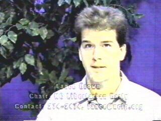Lance Brown on TV